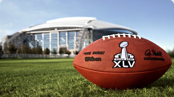 Super Bowl XLV: On Fox February 6th, 6:30 ET