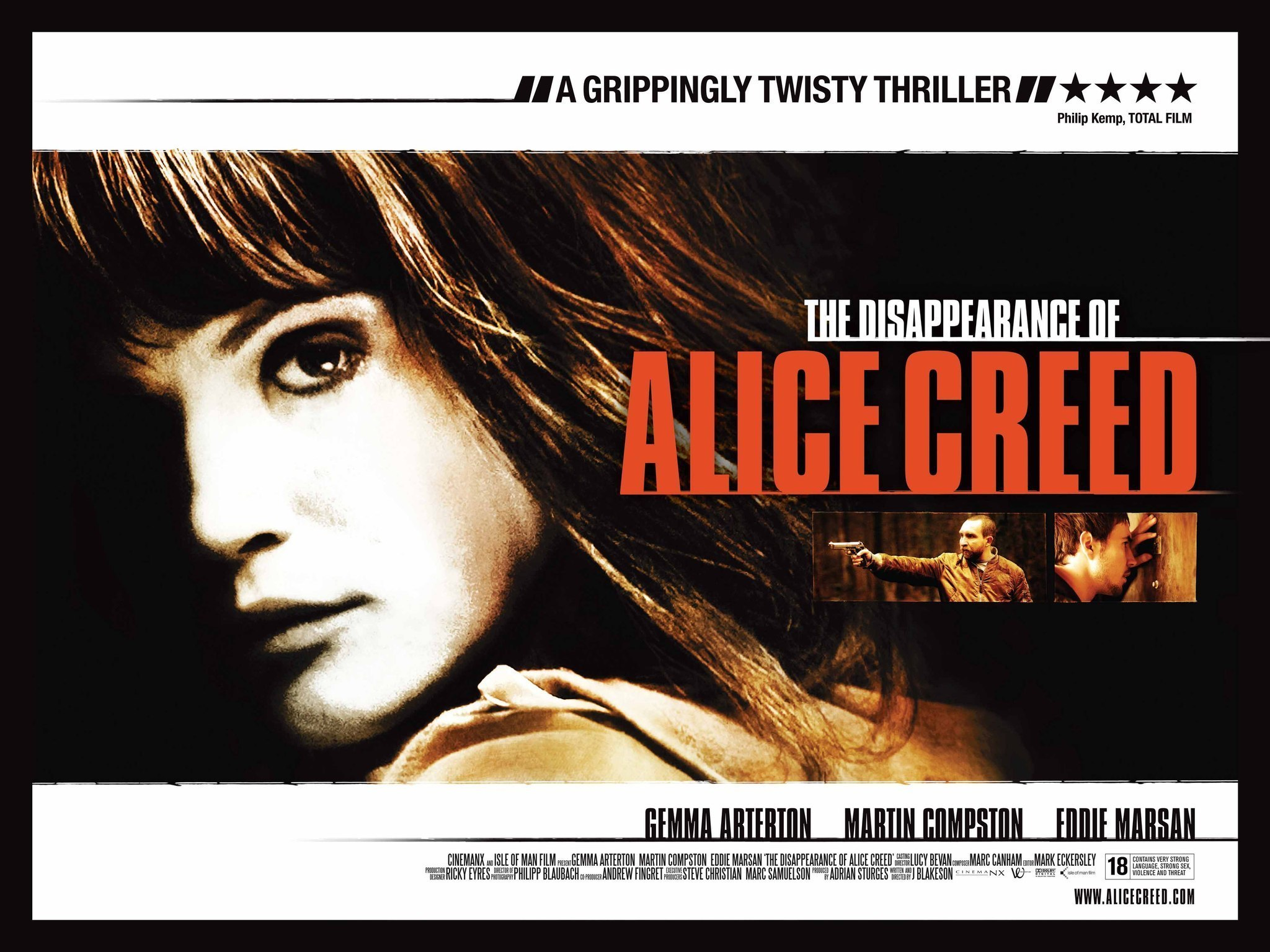 The Disappearance of Alice Creed: A Limerick Review