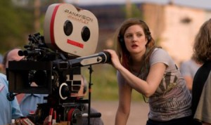 Drew Barrymore Directing Whip It (2009)