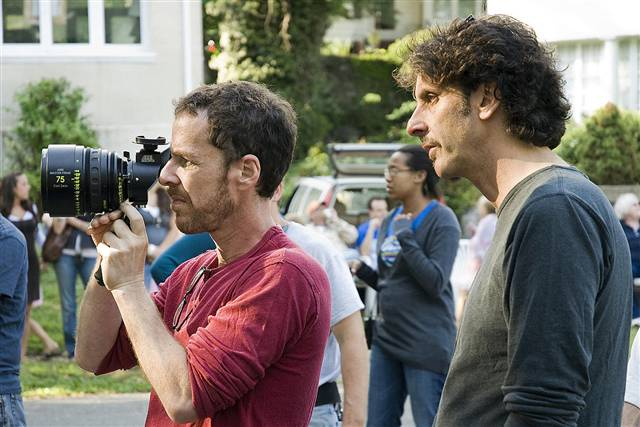The Coen Brothers directing