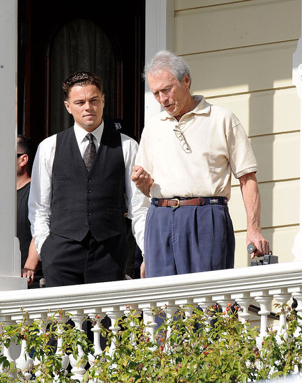 J. Edgar: Leonardo Dicaprio and Clint Eastwood